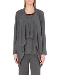 DKNY Urban Essentials Jersey Cardigan - For Women - Lyst