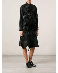 Junya Watanabe Patchwork Aline Skirt - Lyst