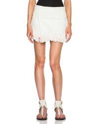 Isabel Marant Natacha Garriga Silk Skirt - Lyst