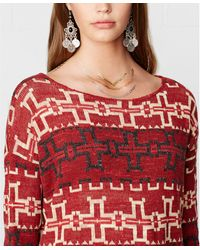 Denim & Supply Ralph Lauren Crew-neck Southwestern-print Sweater - Lyst