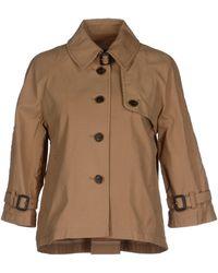 Stefanel Full-Length Jacket - Lyst