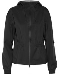 Theory Flya Hooded Twill Jacket - Lyst