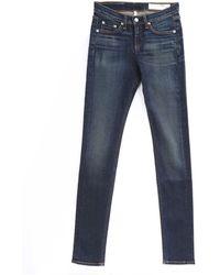 Rag & Bone Chaucer Skinny Highrise Jeans - Lyst