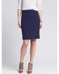 Banana Republic Sloan-fit Pencil Skirt - Lyst