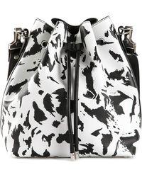 Proenza Schouler Large Bucket Shoulder Bag white - Lyst