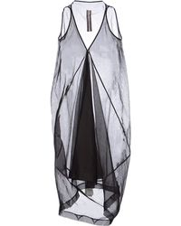 Rick Owens Short Dress - Lyst