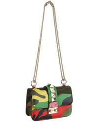 Valentino Psychedelic Camouflage Mini Shoulder Bag - Lyst