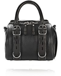 Alexander Wang | Rockie Mini Grained-Leather Shoulder Bag  | Lyst