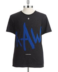 G-star Raw Graphic Tshirt - Lyst