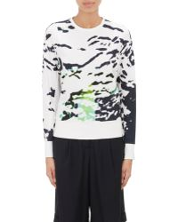 Tim Coppens Abstract French Terry Sweatshirt - Lyst