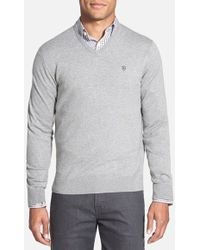 Victorinox - 'signature' Tailored Fit V-neck Sweater - Lyst