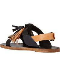 Etoile Isabel Marant Tassel-embellished Clay Sandals - Lyst