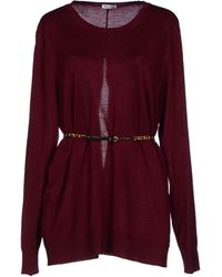 Miu Miu Purple Sweater - Lyst