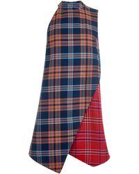 House of Holland | Tartan Wrap Dress | Lyst