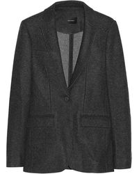 Isabel Marant Farow Wool Jacket - Lyst