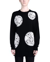 Dolce & Gabbana Long Sleeve Jumper - Lyst