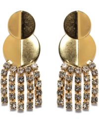 Lizzie Fortunato Imperial City Earrings gold - Lyst