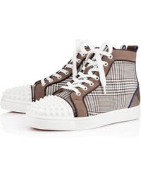 Christian Louboutin Lou Spikes Orlato Mens Flat - Lyst