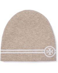 Tory Burch - Reversible Striped Hat - Lyst b1baab9f52a0