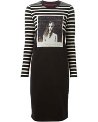 Marc By Marc Jacobs Striped Jersey Dress - Lyst