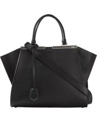 Fendi 3Jours Leather Tote - Lyst