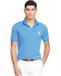 Ralph Lauren - Custom-fit Striped Polo - Lyst