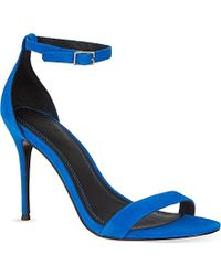 Sandro Suede Pumps - Lyst