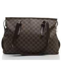 Louis Vuitton Preowned Damier Ebene Chelsea Bag - Lyst