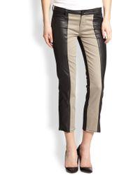 Genetic Denim Nora Colorblock Straightleg Jeans - Lyst