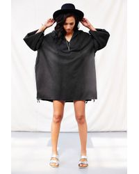 Urban Renewal - Artziv Side-Slit Poncho - Lyst