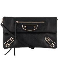 Balenciaga Classic Envelope Leather Cross-body Bag - Lyst