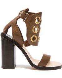 By Malene Birger - Subki Leather Heels - Lyst