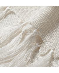 Kilgour - Knitted-Silk Scarf - Lyst