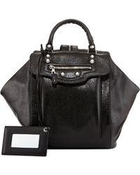 Balenciaga Giant Nickel Zip Traveler Backpack - Lyst