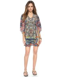 Camilla Short Round Lace Up Caftan - Trek Of The Nung - Lyst