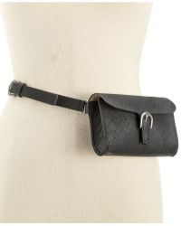 Style & Co. - Perforated Fanny Pack - Lyst