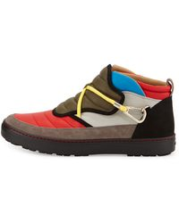 Bally Oskin Colorblock Hiking Sneaker - Lyst