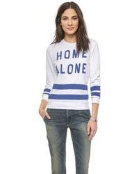 Zoe Karssen Home Alone Sweatshirt - Lyst
