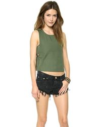 House of Harlow 1960 - Emery Top Army - Lyst