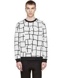 McQ Alexander McQueen | Grey Harrington Sweatshirt | Lyst