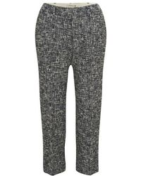 Paul by Paul Smith - Cropped Woven Trousers - Lyst