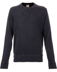 Massimo Alba Blue Sports Sweater - Lyst