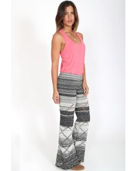 Goddis | Alley Knit Pant In City Chic | Lyst