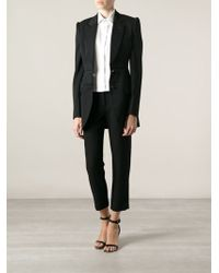 Alexander McQueen Patterned Panel Jacket - Lyst