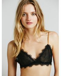 Free People Bed Room Eyes Bralette - Lyst