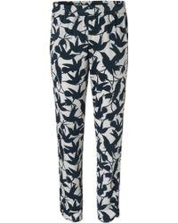 Iris Von Arnim Trousers Foxy blue - Lyst