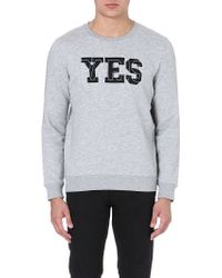 A.P.C. Yes Paris Sweatshirt - Lyst