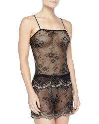 Cosabella Vicenza Shimmer-lace Cami  Boxer Set - Lyst