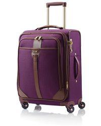Hartmann - 'long Journey' Expandable Spinner Suitcase - Purple - Lyst