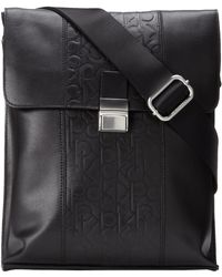 Calvin Klein Slim Small Work Bag - Lyst